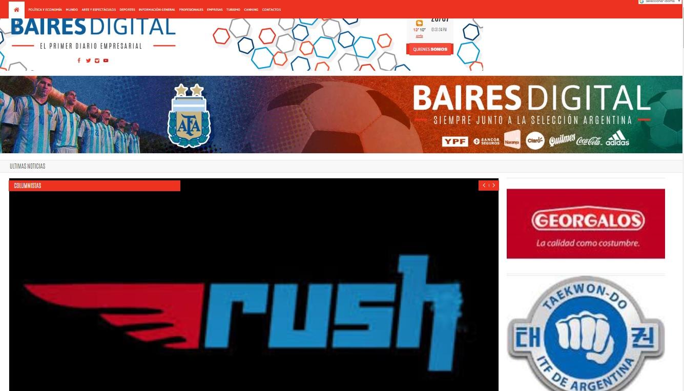 26-7-19 Baires Digital- Rush Monte Grande